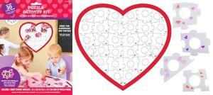 Heart Puzzle Activity Kit