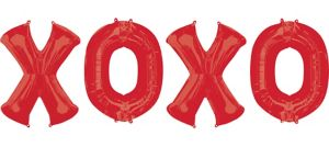 XOXO Balloon Bouquet 4pc