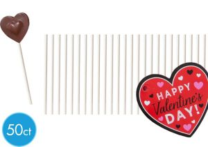 Happy Valentine's Day Lollipop Kit for 15