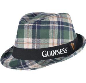 Plaid Guinness Fedora