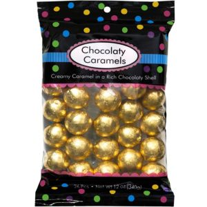 Gold Caramel Balls 26pc