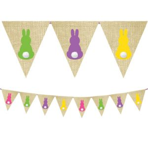 Bunny Tail Pennant Banner