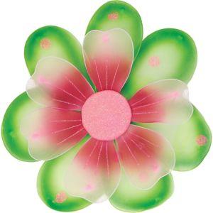 Glitter Pink & Green Flower