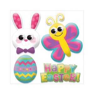 Easter Puffy Stickers 1 Sheet