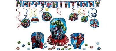 Avengers Party Decorations Kit