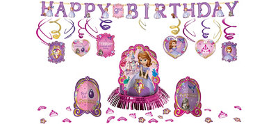 Sofia the First Party Decorations Kit