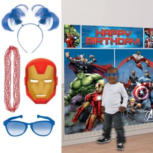 Avengers Photo Booth Kit