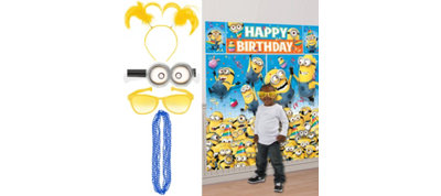 Despicable Me Photo Booth Kit