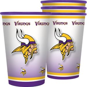 Minnesota Vikings Tumblers 4ct