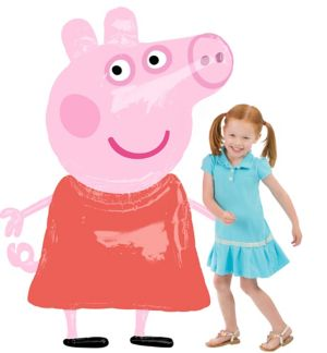 Peppa Pig Balloon - Giant Gliding