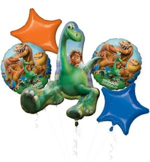 The Good Dinosaur Balloon Bouquet 5pc