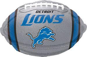 Detroit Lions Balloon - Football
