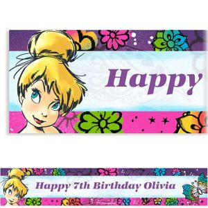 Custom Tinkerbell Keep Flying Banner