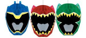 Power Rangers Honeycomb Balls 3ct