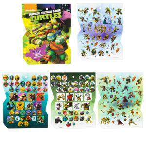 Jumbo Teenage Mutant Ninja Turtles Sticker Book 8 Sheets