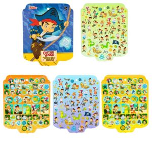 Jumbo Jake and the Never Land Pirates Sticker Book 8 Sheets