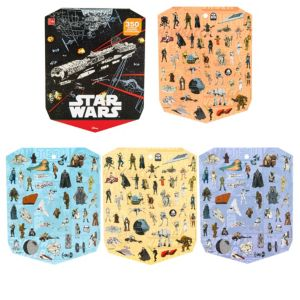 Jumbo Star Wars Sticker Book 8 Sheets