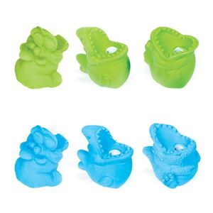 Monster Erasers & Sharpeners 6ct