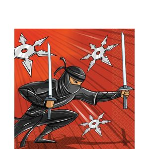 Ninja Lunch Napkins 16ct