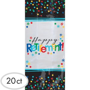 Happy Retirement Celebration Treat Bags 20ct