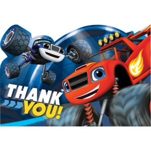 Blaze and the Monster Machines Thank You Notes 8ct