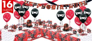 Ninja Party Supplies Deluxe Party Kit