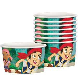 Jake and the Never Land Pirates Treat Cups 8ct