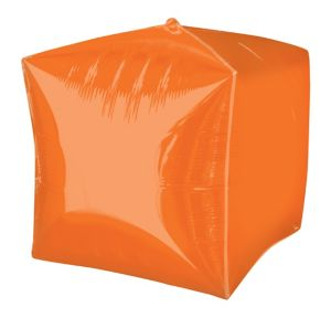 Orange Cubez Balloon