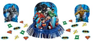 Justice League Table Decorating Kit 23pc