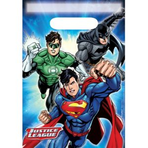 Justice League Favor Bags 8ct