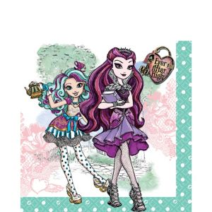 Ever After High Lunch Napkins 16ct