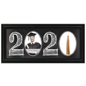 Black 2016 Graduation Photo Frame & Tassel Holder