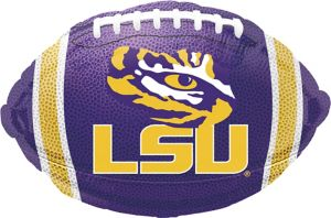 LSU Tigers Balloon - Football
