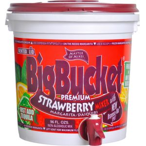 Strawberry & Margarita Daiquiri Mix Bucket Dispenser
