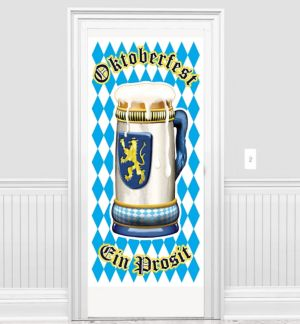 Oktoberfest Door Cover 30in X 5ft Party City