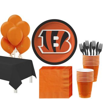 Cincinnati Bengals Super Party Kit for 18 Guests