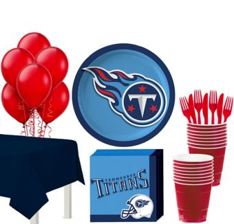 Tennessee Titans Super Party Kit for 18 Guests