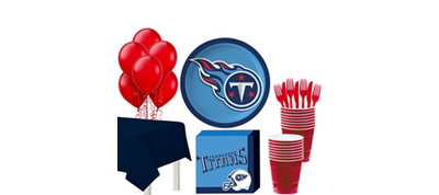 Tennessee Titans Super Party Kit