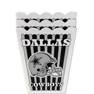 Dallas Cowboys Popcorn Boxes 3ct