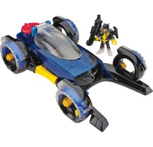 Imaginext Transforming Batmobile Playset 4pc
