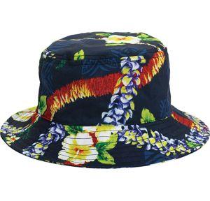 Blue Hibiscus Bucket Hat