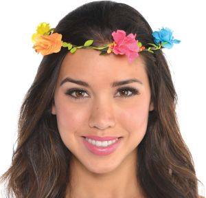 Bright Floral Headwreath
