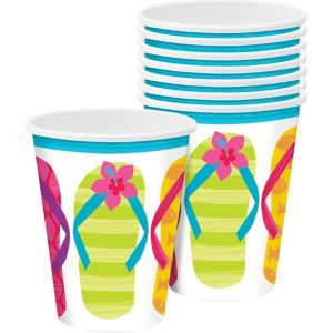 Bright Flip Flop Cups 50ct