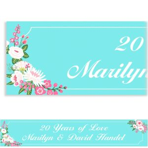 Custom Pretty Little Blossoms Banner