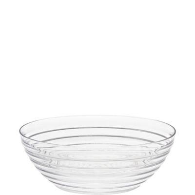CLEAR Ringed Bowl