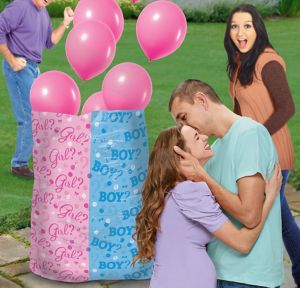 Girl Balloon Release Kit - Girl or Boy Gender Reveal
