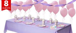 Girls Happi Woodland Party Supplies Basic Party Kit