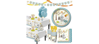 Boys Happi Woodland Party Supplies Deluxe Party Kit