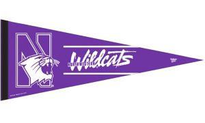 Northwestern Wildcats Pennant Flag