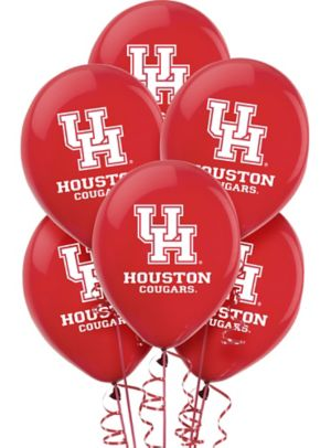 Houston Cougars Balloons 10ct